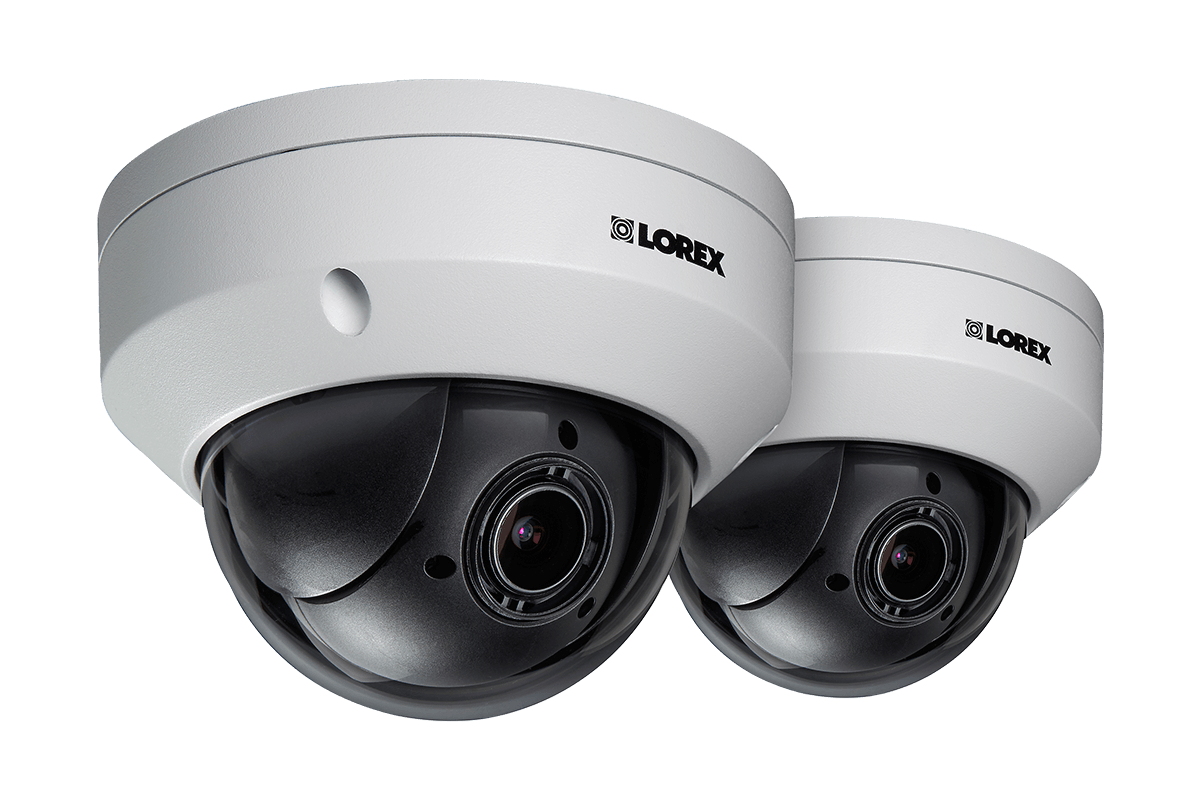 hight resolution of mpx hd 1080p outdoor ptz camera 4x optical zoom with color night vision metal camera 2 pack lorex