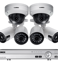 hd home security system featuring 4 ultra wide angle cameras and 2 ptz outdoor 4x zoom [ 1200 x 800 Pixel ]