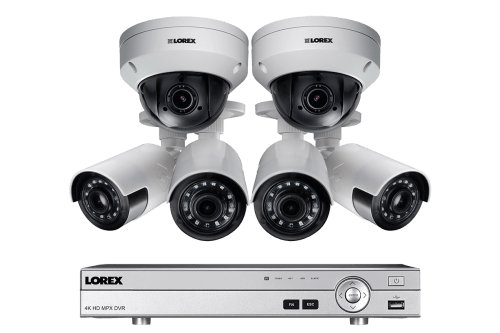 small resolution of hd home security system featuring 4 ultra wide angle cameras and 2 ptz outdoor 4x zoom