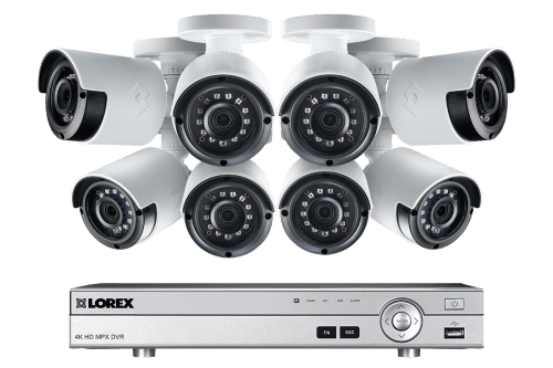 small resolution of 1080p camera system with 8 channel dvr and 8 1080p outdoor security cameras 130ft night
