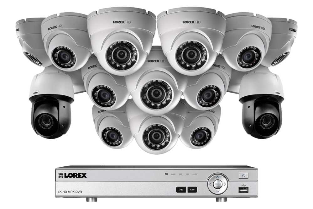 medium resolution of powerful 1080p hd home security system with 2 25 optical zoom 1080p metal ptz cameras