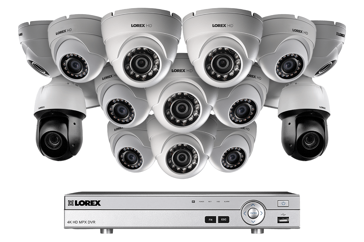 hight resolution of powerful 1080p hd home security system with 2 25 optical zoom 1080p metal ptz cameras