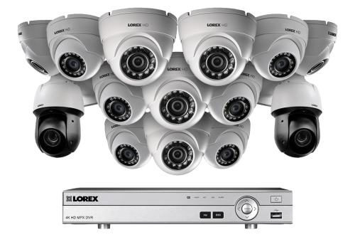 small resolution of powerful 1080p hd home security system with 2 25 optical zoom 1080p metal ptz cameras