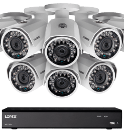 1080p hd home security system with 8 outdoor cameras 150ft night vision 16 channel dvr with 3tb hard drive lorex [ 1200 x 800 Pixel ]