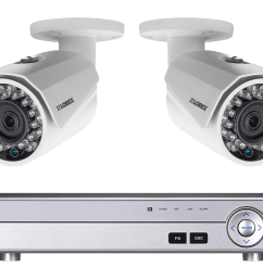 surveillance camera system with 2 hd 1080p cameras [ 1200 x 800 Pixel ]