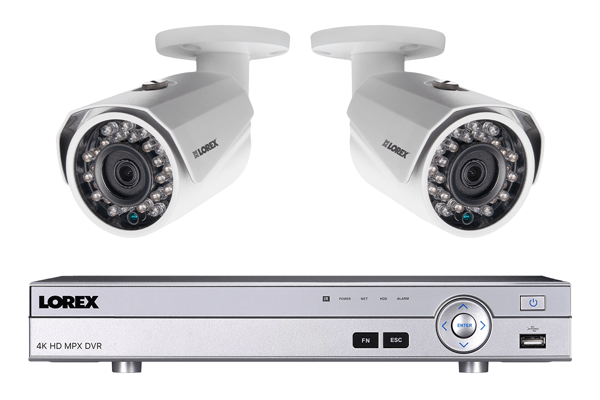hight resolution of surveillance camera system with 2 hd 1080p cameras