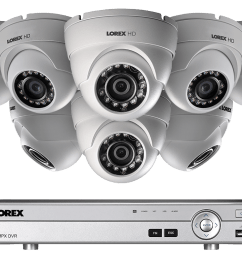hd 1080p home security system and 8 dome metal outdoor cameras with 130ft night vision  [ 1200 x 800 Pixel ]