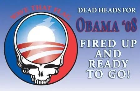 Deadheads for Obama 2008