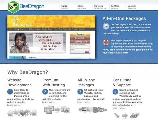 BeeDragon Web Services