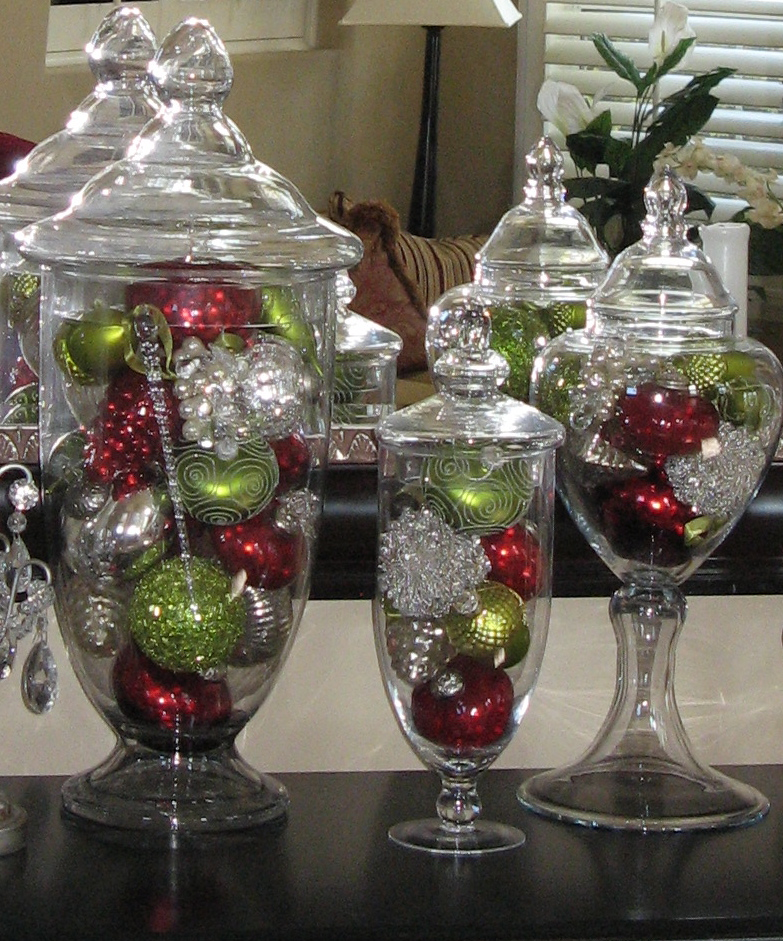holiday fillers for apothecary jars  Loris favorite things