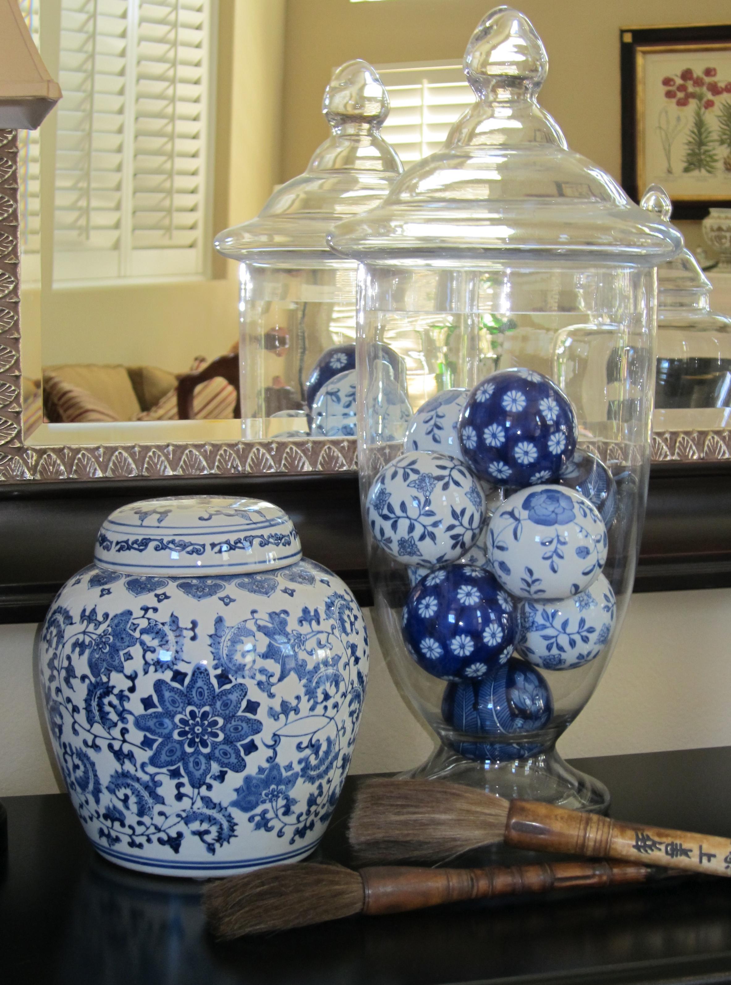 Apothecary jar fillers  Loris favorite things