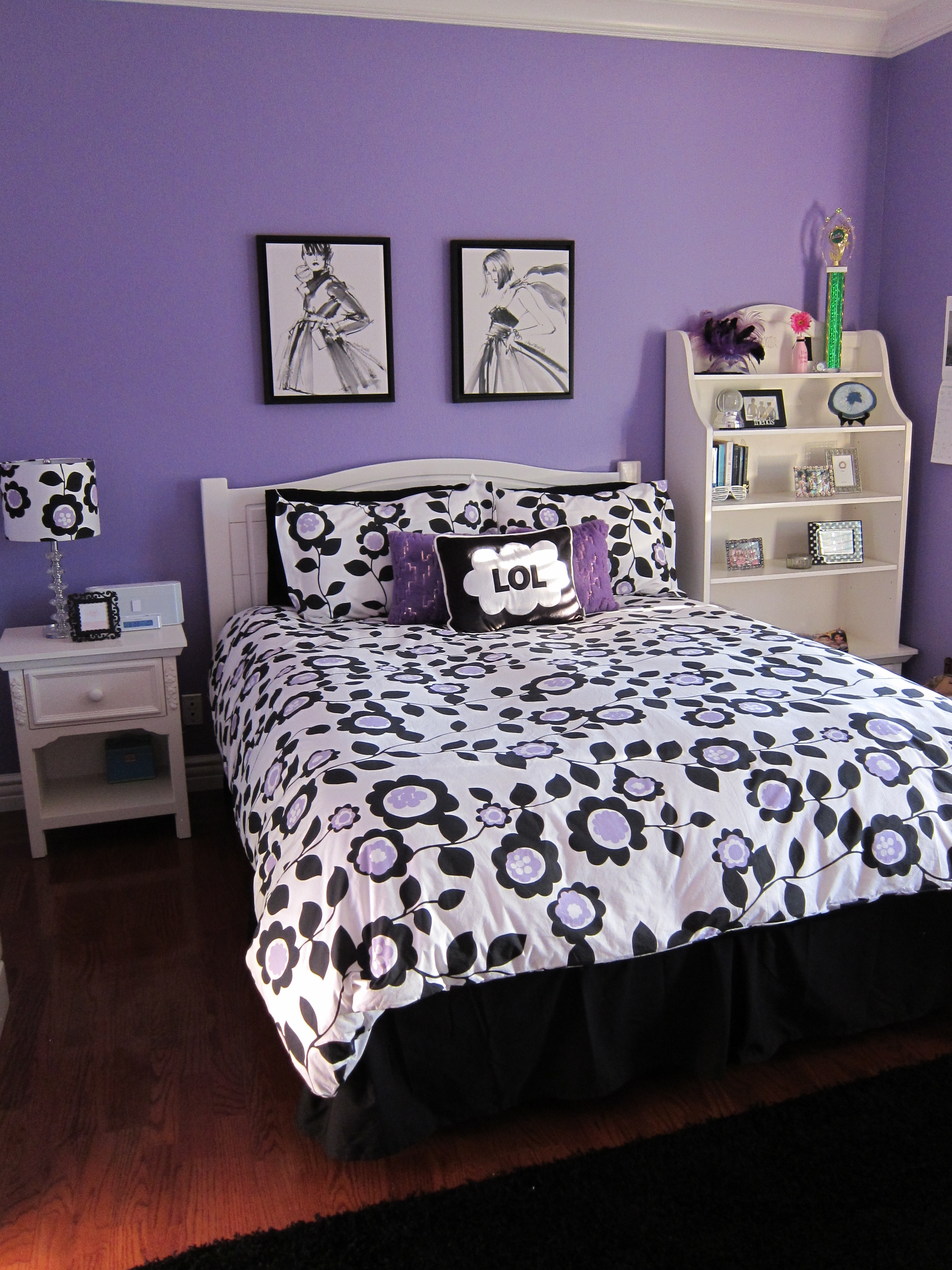 A Teen Bedroom Makeover  Loris favorite things