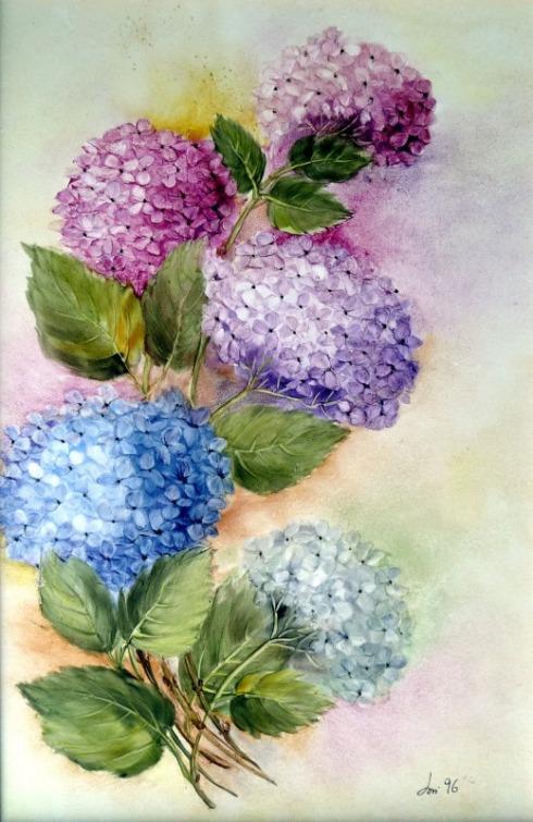la pittura su ceramica  Loredana Giovanetti