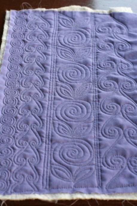 More Spirals, Lori Kennedy, FMQ