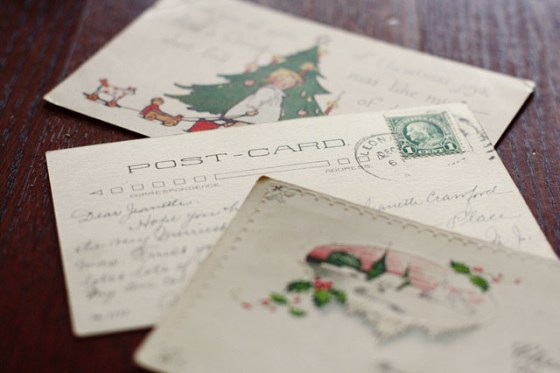Vintage Christmas Postcards