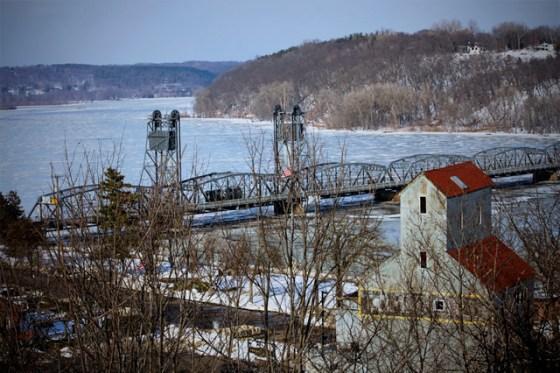 Stillwater Bridge Winter