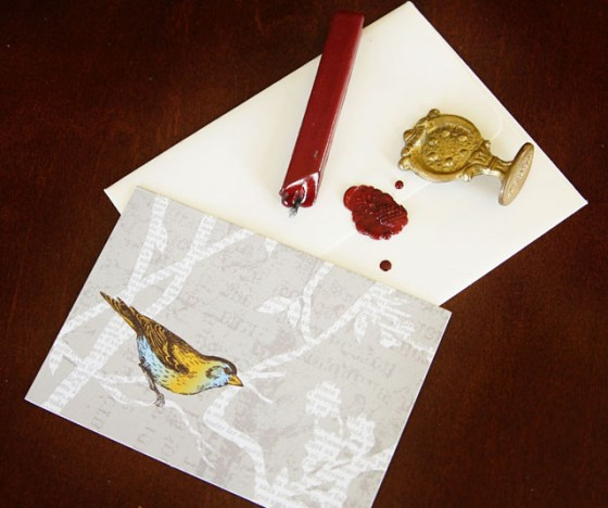 The Art of Saying Thank-You, Letters, Personal letters, Hand-written letters, Sealing Wax