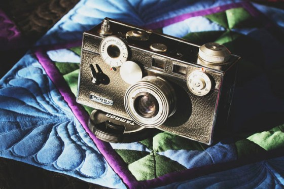 Vintage Camera, Photography, Henri Cartier-Bresson quote