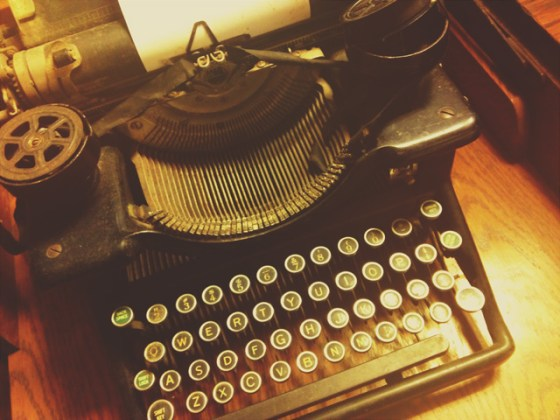 antique, vintage, typewriter