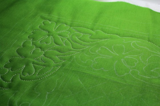 St. Patrick's Day, quilting
