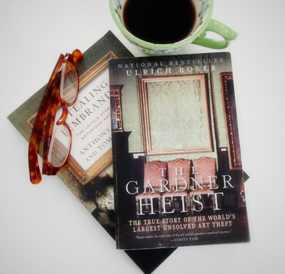 The Gardner Heist, Art Theft, Books, Reading,