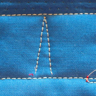 Free Motion Quilting, Egg and Dart Border