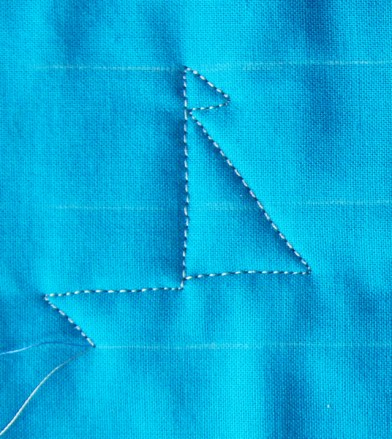 Free Motion Quilting, Sailboats, Long Arm Quilting, Tutorial