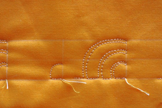 The Clamshell, Free Motion Quilting Tutorial