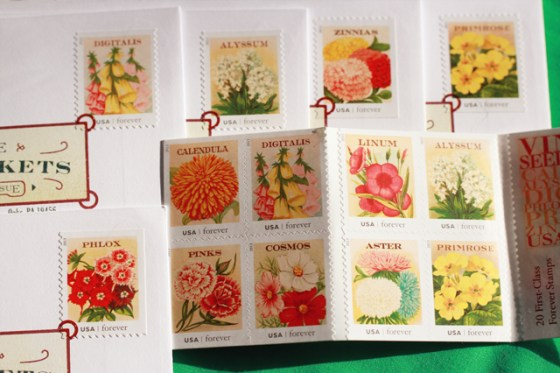 USPS Flower Stamps
