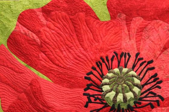 Poppy Quilt, Garden