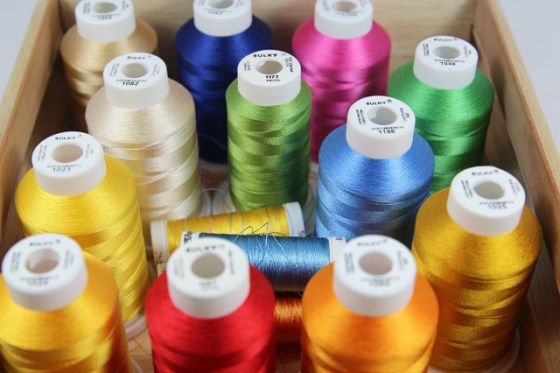 Sulky, Aurifil, Threads