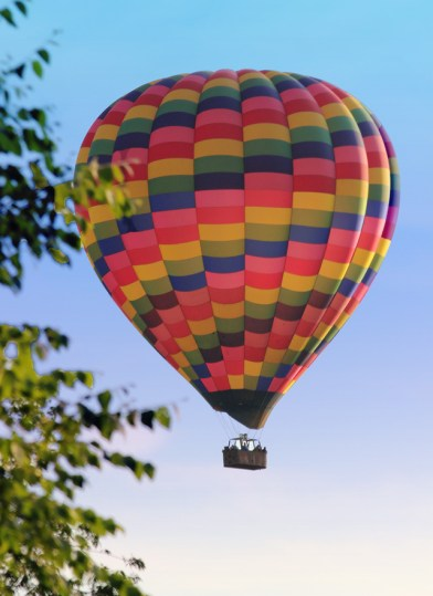 Hot Air Balloon, Stillwater