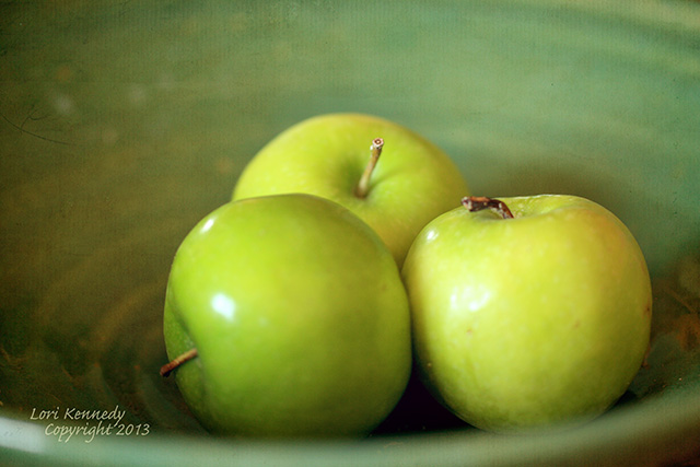 Apple Still Life