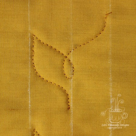 Wheat Braid, Free Motion Quilt Tutorial