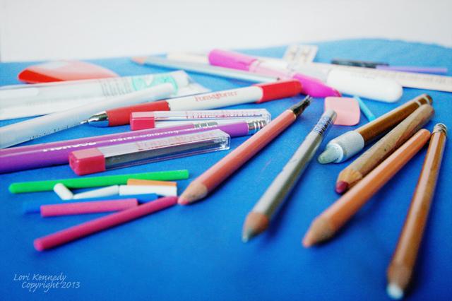 Miracle Chaulk Chubby Crayon White Fabric Marking Stick Marker
