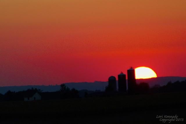 Red Sky, Sunset, Galena
