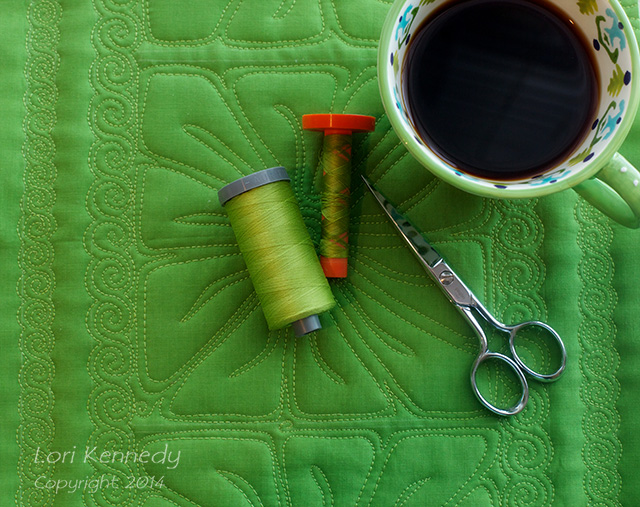 Free Motion Quilting, Tea