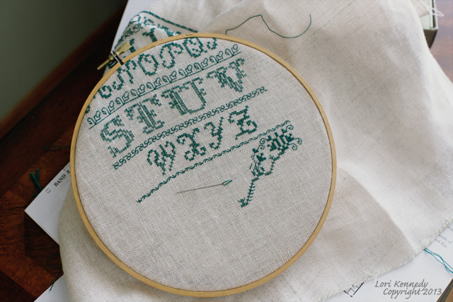 Counted Cross Stitch Embroidery