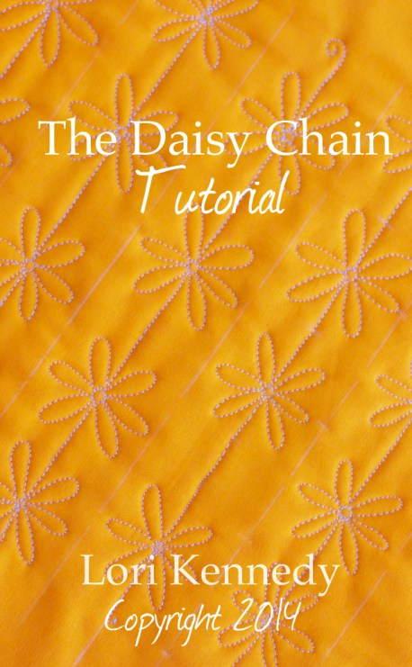 Daisy Chain, Free Motion Quilt Tutorial