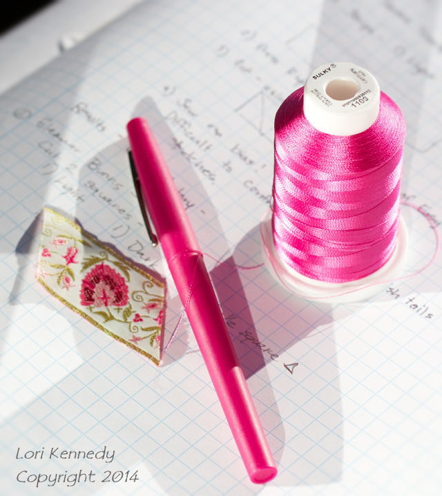 Quilt Notebook, Sulky Thread