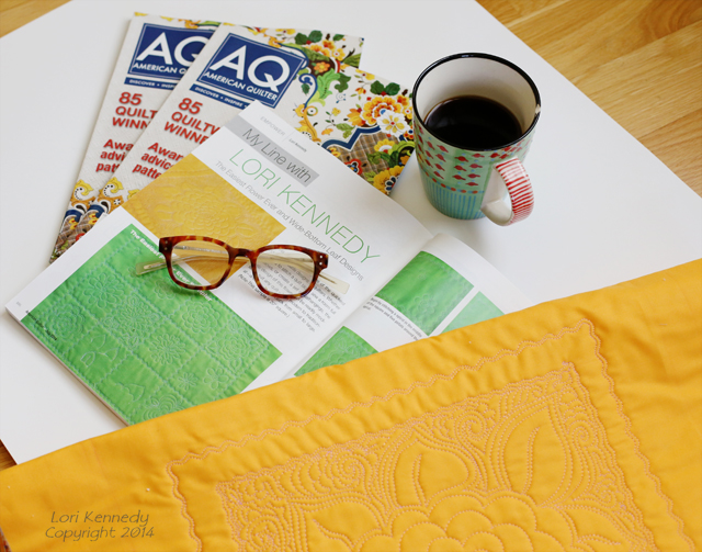 American Quilter, July 2014 Issue