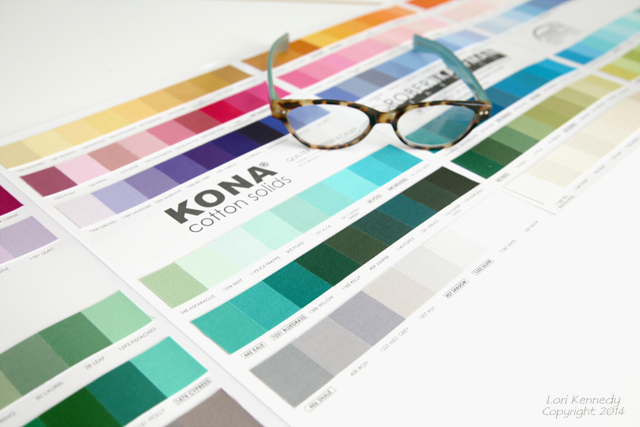 Kona Color Card