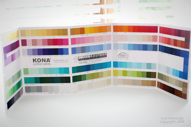 Kona Color Card