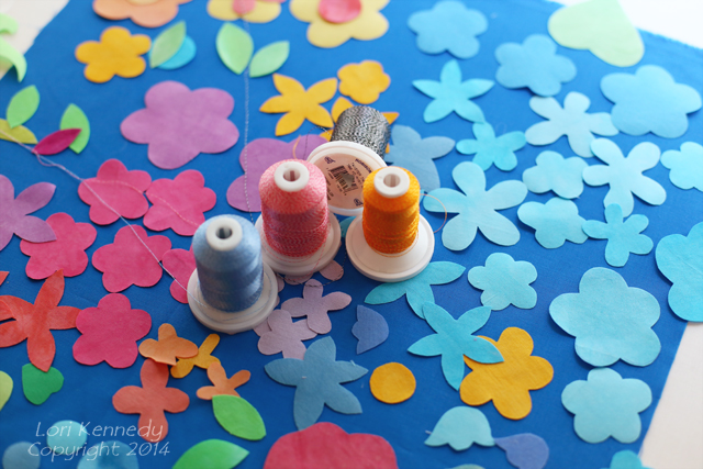 Fusible Flowers Project