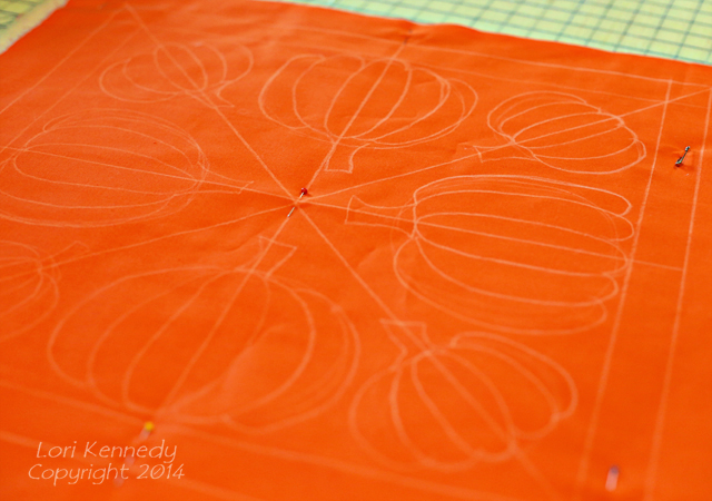 Pumpkin Quilting
