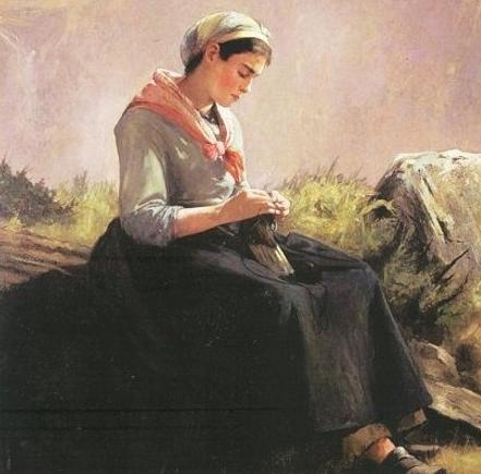 Anna Elizabeth Klumpke, Knitting