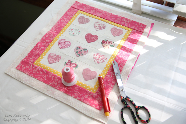 Heart Applique Quilt