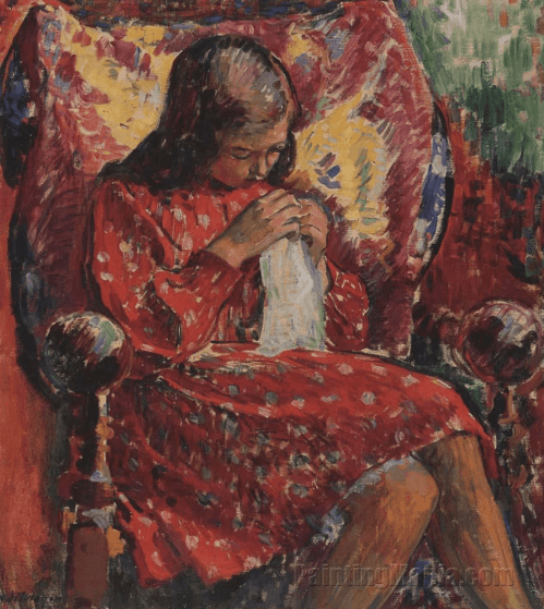 Marthe Sewing, Lebasque