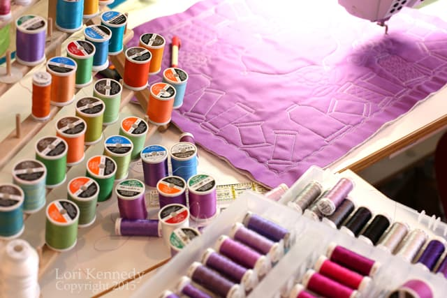 Sulky Thread, Free Motion Quilting