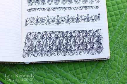 Doodle Lessons: The Scallop
